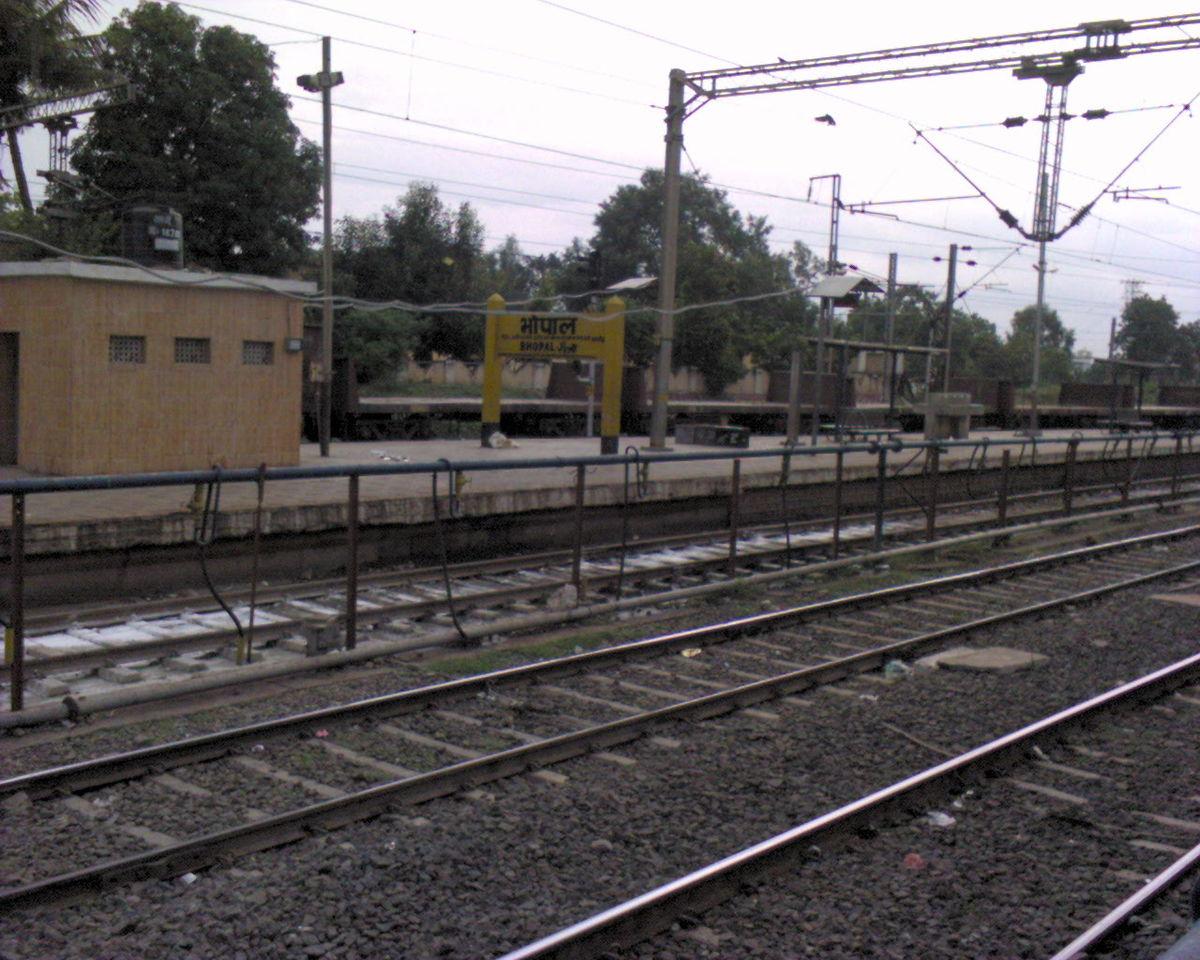 Bhopal Junction Railway Station Wikipedia
