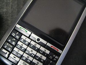 English: Picture of my Blackberry