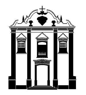 um dos exemplos da arquitetura barroca em Goiás.