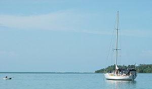 Mer des Caraïbes à Bocas del Toro (Panama)