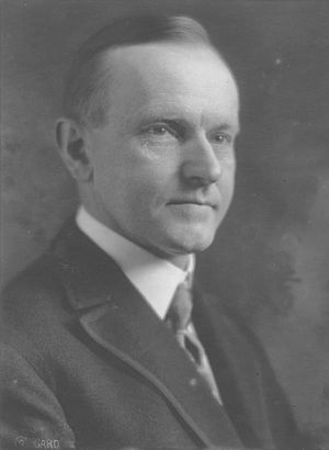 Calvin Coolidge.