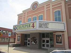 English: I took photo of Culpeper4 Theater wit...
