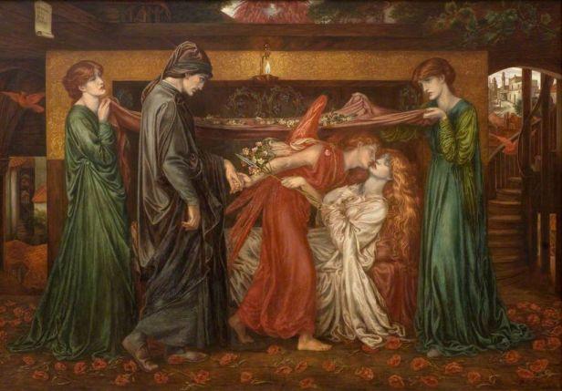 """""""Dante's Dream"""" by Dante Gabriel Rossetti"""