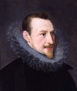 English: Portrait of Edmund Spenser, English R...