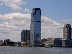 The Goldman Sachs Tower - Jersey city, NJ.
