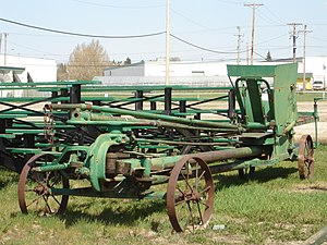Horse Drawn Machinery. Prairieland Park, Saska...