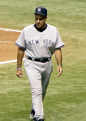 Joe Torre (seen here as the manager of the New...