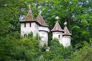 Picture of the castle of Sleeping Beauty in Th...