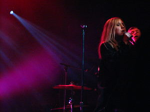 Lykke Li performig at The Mod Club.