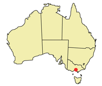 Vị trí Melbourne
