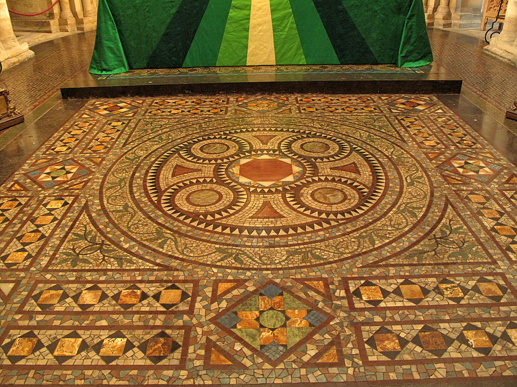 FileMosaic floor Norwich Cathedraljpg  Wikimedia Commons