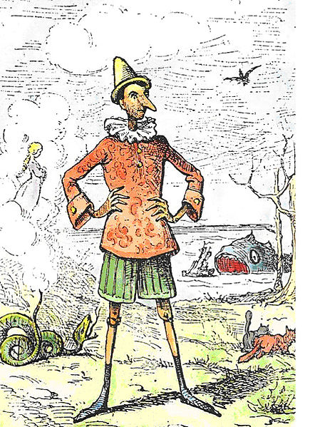 Montreur De Marionnettes Dans Pinocchio : montreur, marionnettes, pinocchio, Tricot, Jouets:, Pinocchio