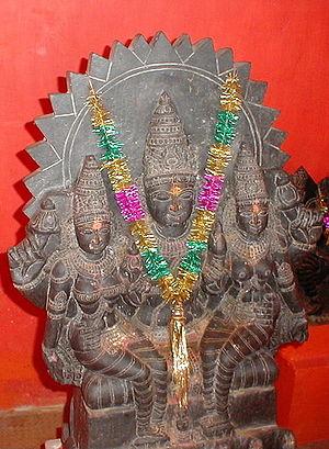 Surendrapuri Temple's Navagraha Temples, Surya...