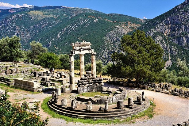 Tholos of Delphi by Joy of Museums