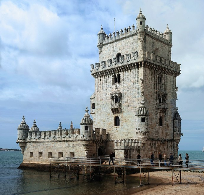 mapa de Portugal torre de belem