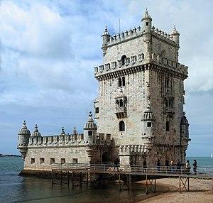 English: The Tower of Belém, Lisbon, Portugal....
