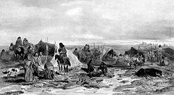 Patagonia en 1842, vista por navegantes franceses