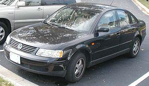 1998-2001 Volkswagen Passat sedan photographed...