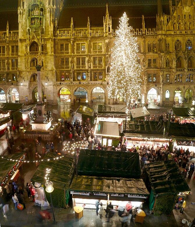 English: Christmas market at Munich