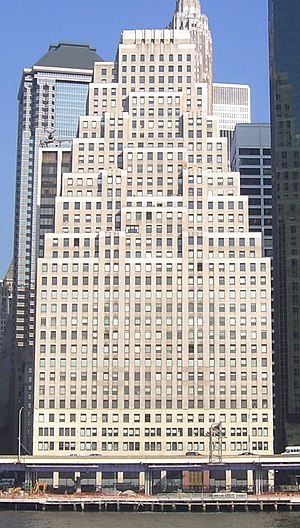 120 Wall Street in the Financial District of D...