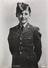 Prince Harald as a child