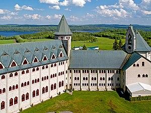 Saint Benedict Abbey, Saint-Benoît-du-Lac, tak...