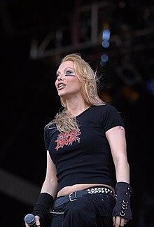 Angela Gossow (via Wikipedia)