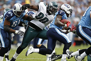 English: Philadelphia Eagles defensive tackle ...
