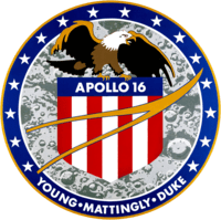 Insigne de la mission Apollo 16