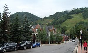 English: Aspen, Colorado, August 2010.