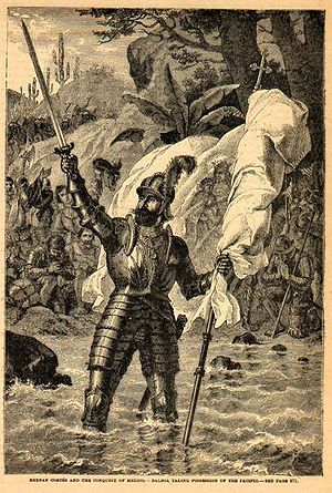 Vasco Núñez de Balboa claims the South Sea. XI...