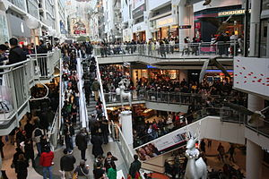 Boxing Day at Eaton Center