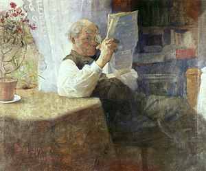 Portrait of Father, 1884