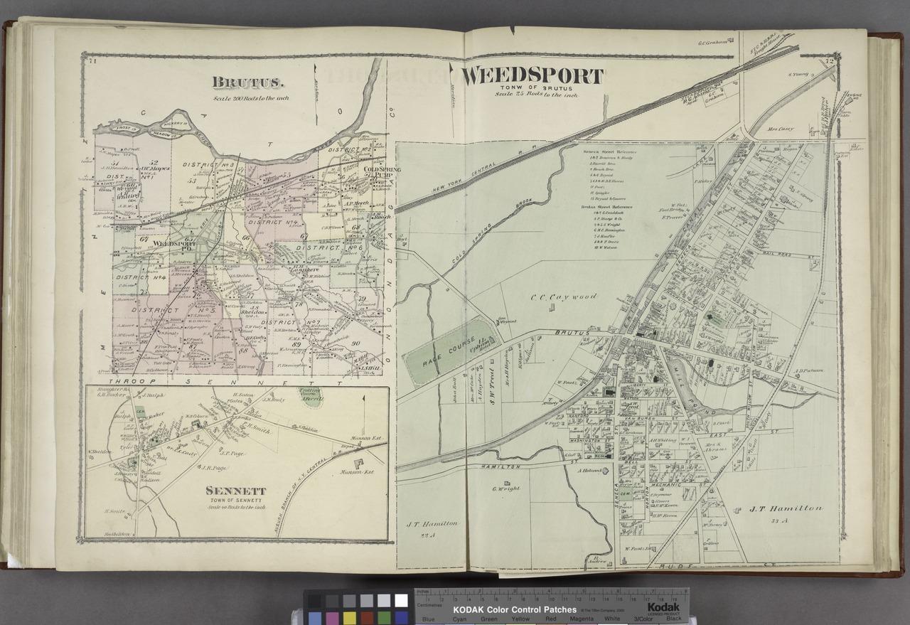 FileBrutus Township Sennett Village Weedsport