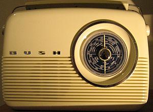 Bush Radio reproduction of 1959 TR82 transisto...