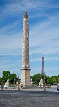 Concorde obelisque tour Eiffel