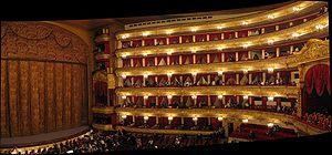 Moscow's Bolshoi Theatre, where Boris Alexandr...