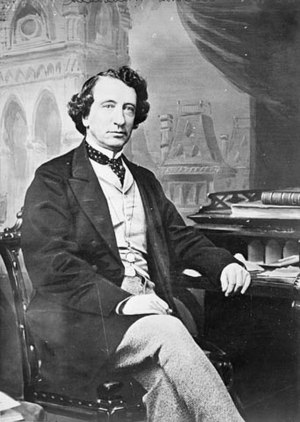John A. Macdonald, one of the Fathers of Confe...