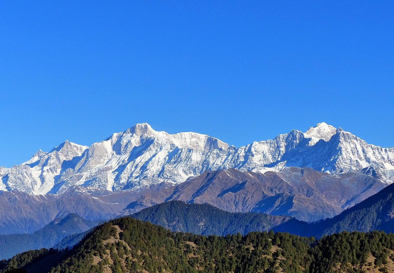 Mountain View Wallpaper Hd File Kedarnath And Kedar Dome Uttarakhand India November