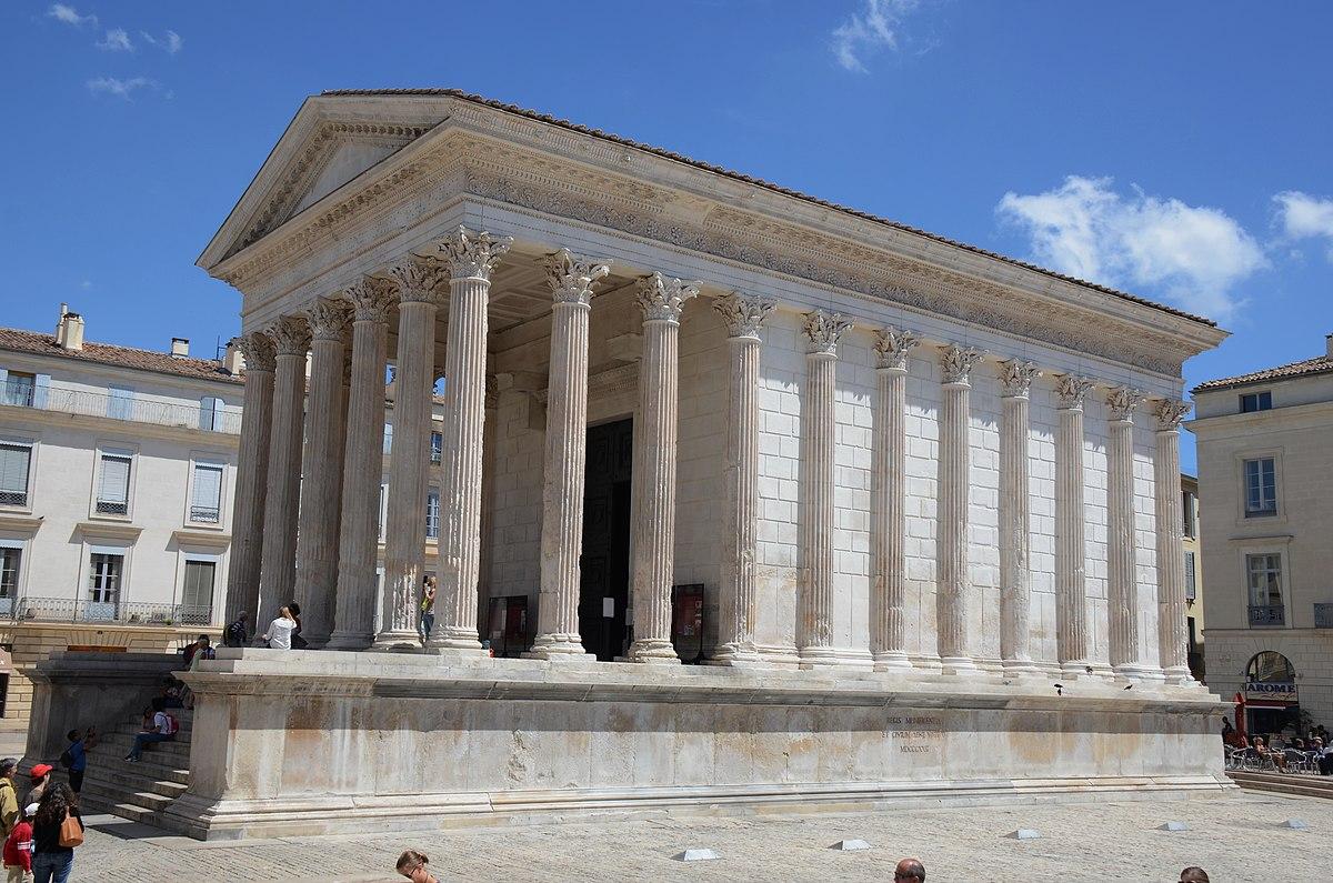 Templo romano  Wikipdia a enciclopdia livre