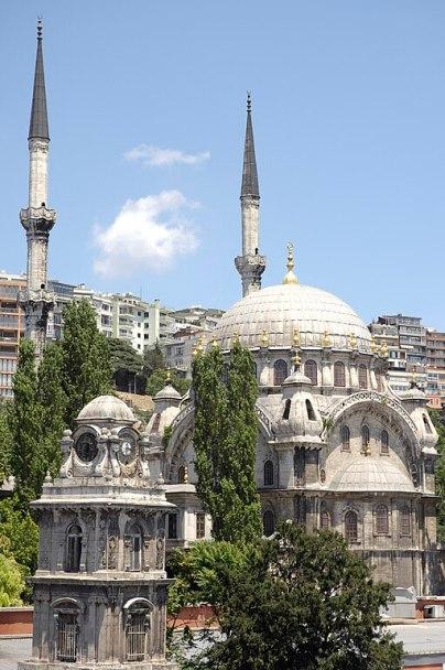 """Constantinople, Top-Kahné Mosque"" by Ivan Aivazovsky"