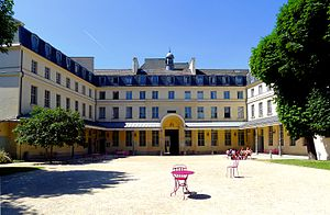 English: Centre culturel irlandais - Paris Fra...