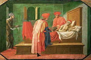 Pesellino, santi cosma e damiano