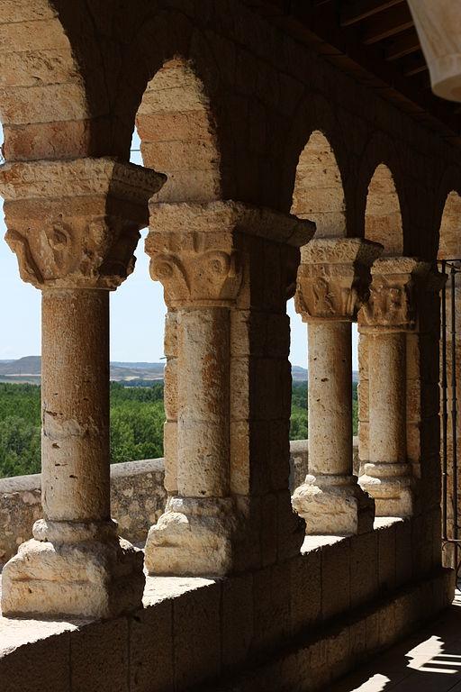 San Esteban de Gormaz Santa María porch1258