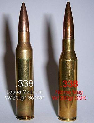 338 Lapua Vs 50 Bmg Ballistics Chart : lapua, ballistics, chart, Lapua, Magnum, Wikipedia