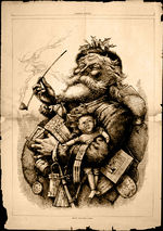 Merry Old Santa Claus, εφημερίδα Harper's Weekly, 1 Ιανουαρίου 1881.