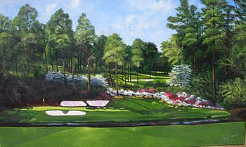 English: 12th at Augusta National in Georgia, ...
