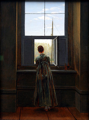 C. D. Friedrich - Woman at a window