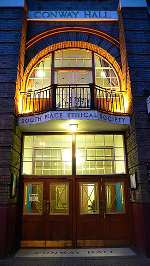 Conway Hall Humanist Centre, home of the South...