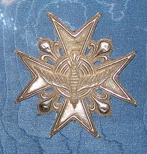 Звезда ордена святого Духа, шитая. Принадлежал...